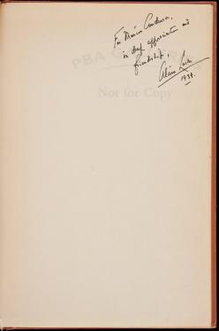The Negro and His Music - inscribed by the founder of the Harlem...