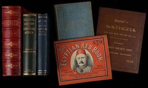 Lot of 6 volumes on, by or relating to Charles George