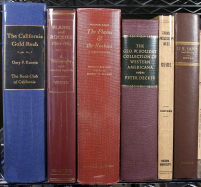 Lot of 11 Americana & Western Americana reference volumes