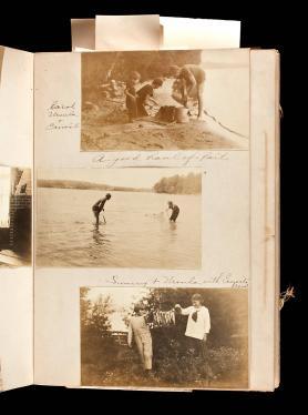 Hemingway family photograph and memorabilia album