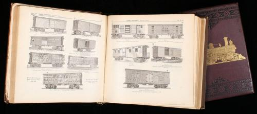 Two books on American Locomotives