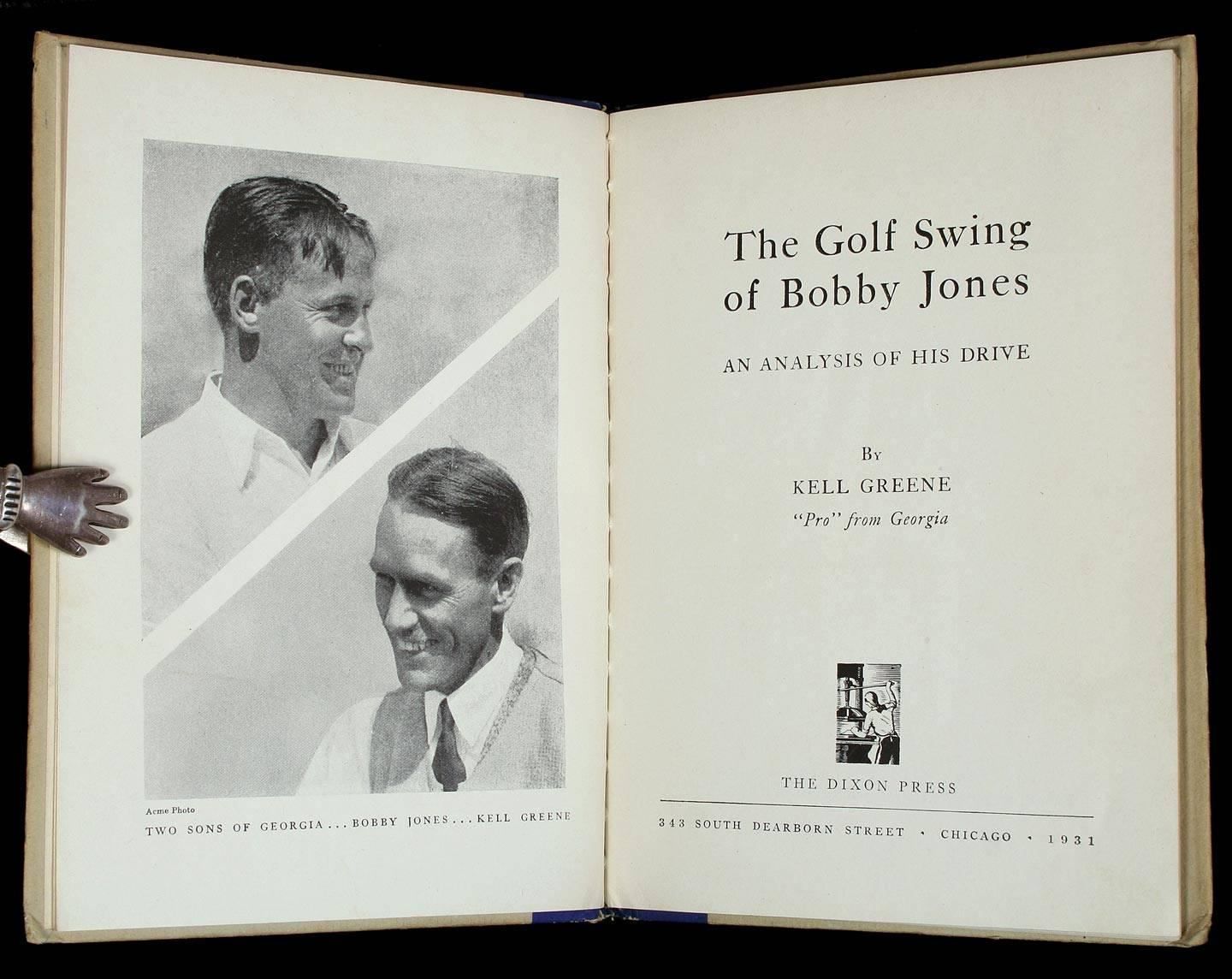 The Golf Swing Of Bobby Jones An Analysis Of His Drive
