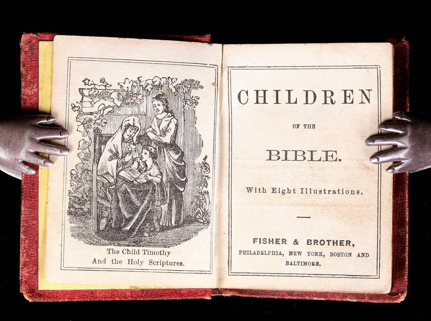 Collection of 19th Century Miniature Bible Histories, etc