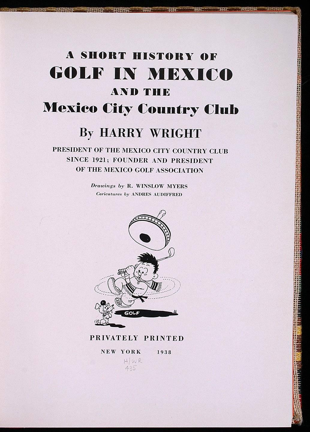 A Short History of Golf in Mexico and the Mexico City Country Club on cartoon politics mexico, cartoon food mexico, cartoon travel mexico,