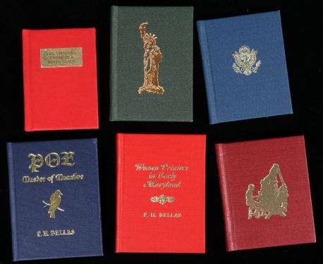 Lot of six miniature books from the Xavier Press
